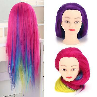 £8.59 • Buy 26-29  Hairdressing Training Head Practice Mannequin Doll Clamp Salon UK