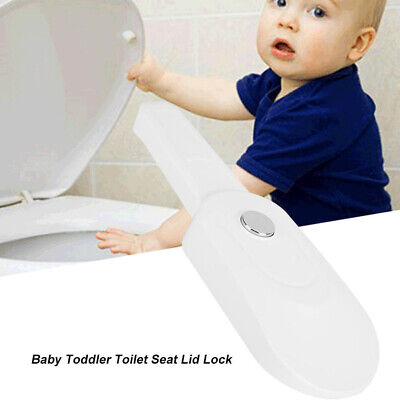 £6.69 • Buy Baby Toddler Kids Toilet Seat Lid Lock Home Protective Safety Tool Bathroom Accs