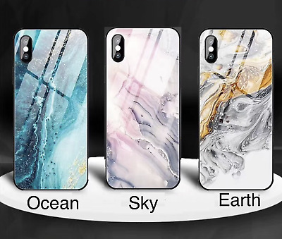 AU10.95 • Buy For Apple Luxury TPU Marble Glass IPhone Case 7/8/SE Plus 11/11Pro X XR XS MAX