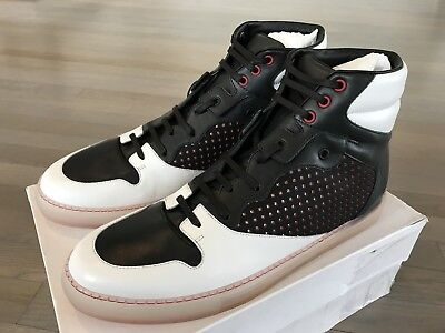 AU494.82 • Buy 665$ Balenciaga Leather High Tops Sneakers Size US 12 Or EU 45 Made In Italy