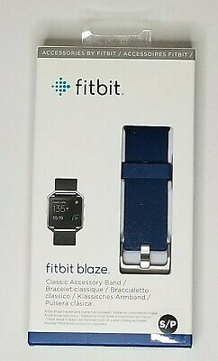 $ CDN17.12 • Buy Fitbit Blaze Navy Accessory Band Replacement Size Small New In Box