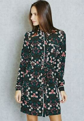 Brand New Ex Dorothy Perkins Floral Printed Belted Shirt Dress RRP £38 Sizs 6-22 • 7.99£