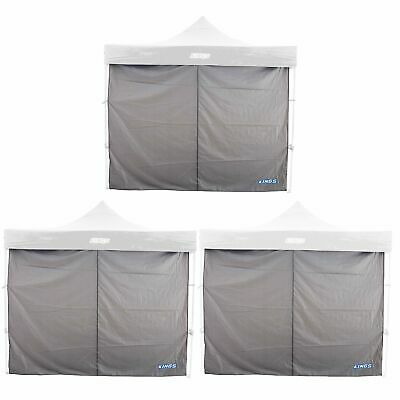 AU113.85 • Buy 3x Adventure Kings Gazebo Side Wall 3 X 3m Waterproof 210D Waterproof Polyester