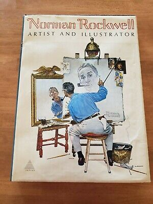 $ CDN11.86 • Buy Norman Rockwell Artist And Illustrator Coffee Table Book 1971 614 Illustrations