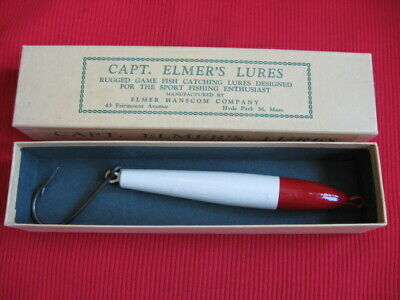 $ CDN46.60 • Buy Vintage CAPTAIN ELMER'S Saltwater Fishing Lure - Unused In Box !!!