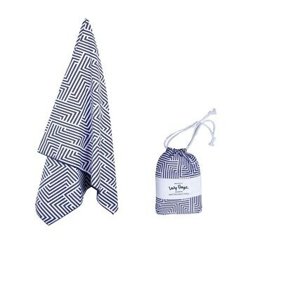 AU35 • Buy 80x160cm X-Large Microfibre Sand-Free Beach Towel Quick Dry Travel Towel Quick