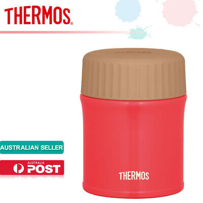 AU78.99 • Buy Thermos JBI-382 RCL Vacuum Insulation Food Container 0.38L Soup Jar Red Chili