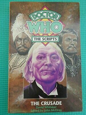 Doctor Who The Crusade The Scripts Paperback • 6.99£