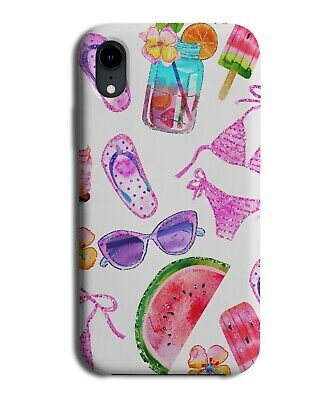 Colourful Girls Accessories Holiday Phone Case Cover Theme Style Tropical G851 • 9.99£