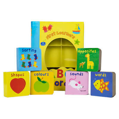 £7.99 • Buy First Learners ABC Words - Board Book Set For Early Learning