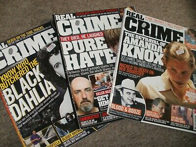Crime Magazines Real Crime 3 Issues • 4.99£