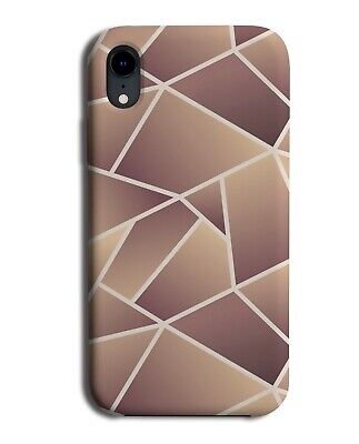Rose Gold Shades Geometric Shapes Phone Case Cover Mosaic Tiling Abstract H409  • 9.99£