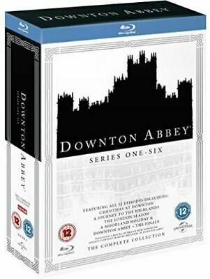 DOWNTON DOWNTOWN ABBEY - The Complete Series Seasons 1-6 + Specials BLU RAY NEW • 59.99£