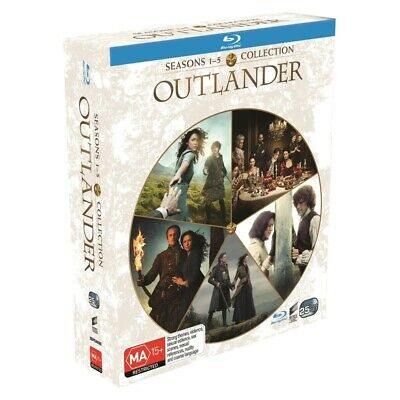 AU169.95 • Buy BRAND NEW Outlander : Seasons 1-5 Collection (Blu-Ray, 25-Disc Set) *PREORDER