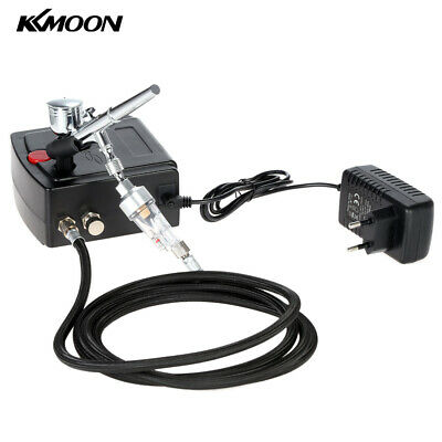 £25.95 • Buy Dual Action Airbrush Air Compressor Kit 0.3mm Nozzle Spray For Model Tattoo UK