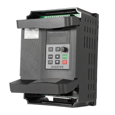£63.46 • Buy 2.2KW 12A 3HP Variable Frequency Inverter Motor Drive VFD Single In 3 Phase B5G2