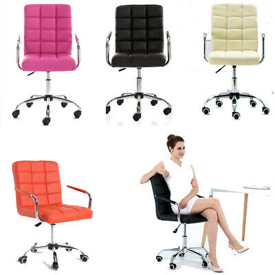 AU89.99 • Buy Office Computer Desk Chair PU Leather Swivel Home Adjustable Executive Gaming AU