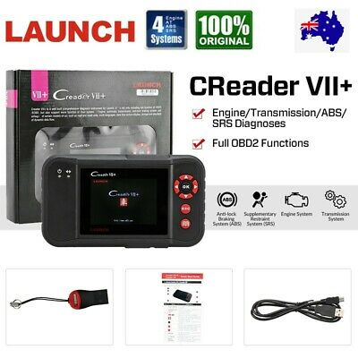 AU199 • Buy LAUNCH VII+ Car & Auto Diagnostic Scan Tool OBD2 Code Reader For Ford Holden AU