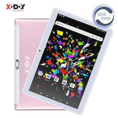 AU115.99 • Buy XGODY 10.1  Inch Tablet PC Android 9.0 Pie 4-Core 2+32GB Wi-Fi 2xCamera Phablet