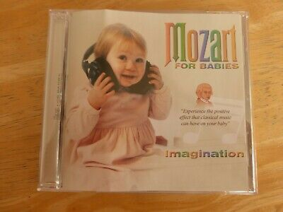 Mozart For Babies ‎– Imagination - CD  • 5£