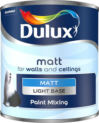 Dulux Matt Emulsions Popular Colours Custom Tinted To Order (not Factory Tin) • 27.99£