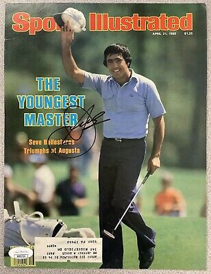 £212.94 • Buy Seve Ballesteros Signed Sports Illustrated Cover Only Masters Auto 4/21/80 JSA