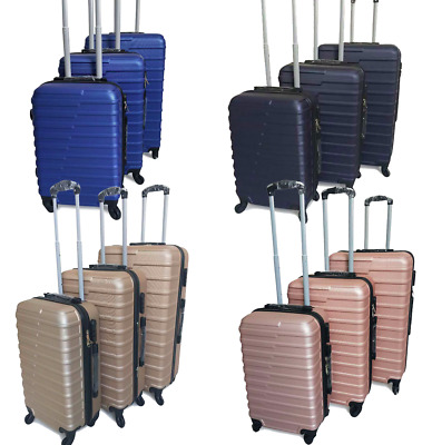 Hard Shell Expandable Suitcase 4 Wheel Spinner Lightweight Luggage Travel Cabin • 23.99£