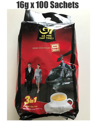 AU38.80 • Buy Trung Nguyen G7 Instant Coffee 3 In 1 Coffeemix 16g X 100