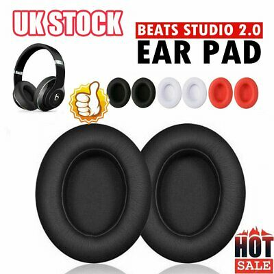2PCS Replacement Ear Pads For Beats By Dr.Dre Studio 2.0/3.0 Wired & Wireless D2 • 5.97£