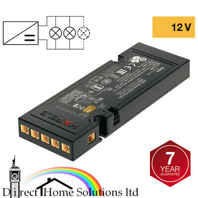£23.49 • Buy Hafele Loox 12V LED Driver IP20 With 6 Way Constant Voltage / Without Mains Lead