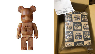 $1299.98 • Buy BE@RBRICK X KARIMOKU HOUSE INDUSTRIES CHESS 400% Wooden Bearbrick From Japan NEW