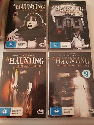 DVD - A Haunting Region 0 Spirits From Past Demon Angels Anguished House Fear • 21.87£