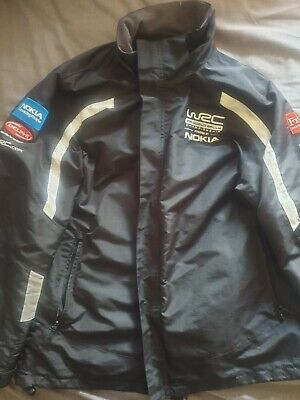 Official Wrc Fia World Rally Championship Jacket Top Performance Clothing Size M • 25£