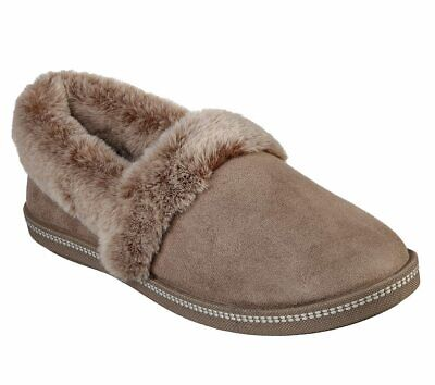 Skechers 32777 Cozy Campfire Team Toasty Ladies Taupe Slippers • 37£