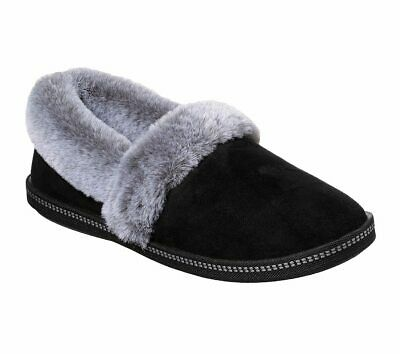 Skechers 32777 Cozy Campfire Team Toasty Ladies Black Slippers • 37£