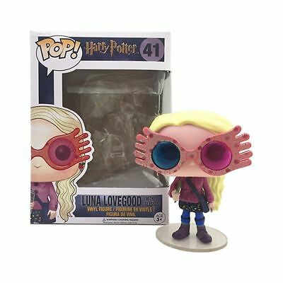 Gift FUNKO POP Harry Potter Luna Lovegood With Glasses Figure Collection Toy #41 • 14.69£
