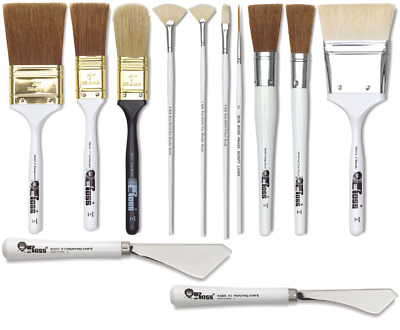 Bob Ross Landscape Oil Painting Brushes And Painting Knifes PROMO POSTAGE • 6.95£