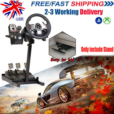 Racing Simulator Steering Wheel Stand Driving Gaming For PS XBOX G920 T300RS T80 • 44.99£