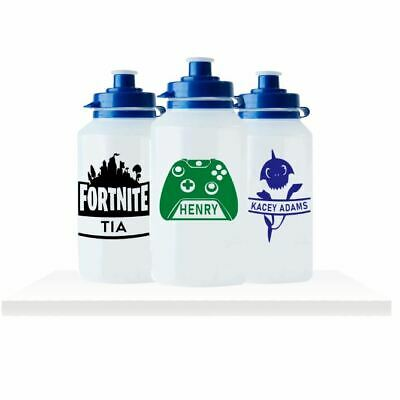 Personalised Childrens Drinks Bottle - Gaming, Xbox, Playstation, Computer Games • 4.50£