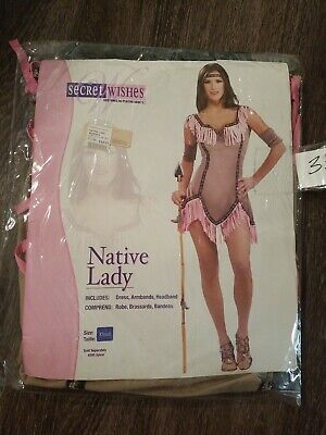$12.99 • Buy MM Adult Native Lady Halloween Costume Size XS