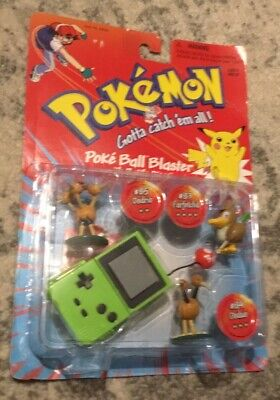 Pokemon Poke Ball Blaster With Battle Discs New Toy Game Movie 1995 Collectable • 15.99£