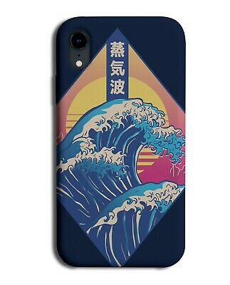 Japanese Waves Phone Case Cover Japan Anime Wave Ocean Cartoon Sun E665  • 9.99£