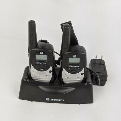 $ CDN23.71 • Buy Audiovox 2 Way Radio Set GMRS122 22 Channels FRS/GMRS 5 Mile Range & Base