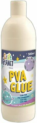 All Purpose Washable PVA Glue For  School Home Office Craft, Transparent 500 ML • 4.25£