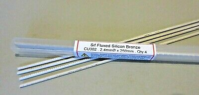 SIF FLUXED BRONZE BRAZING RODS GENERAL PURPOSE - JOINS COPPER And STEEL  • 9.50£