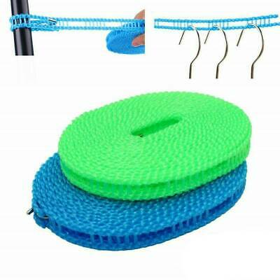 5/3M Non-slip Nylon Washing Clothesline Outdoor Camping Clothes Line Rope • 3.73£