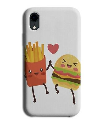 £9.99 • Buy Fast Food Special Friendship Phone Cover Case Fries Chips Burger BFF BFFs J080