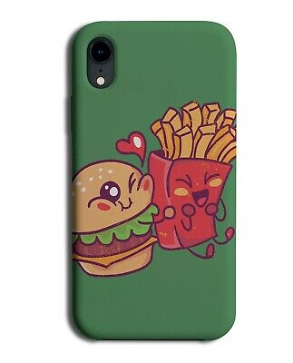 £9.99 • Buy Cartoon Burger & Fries Phone Cover Case Chips Picture Friends Burger Photo J081
