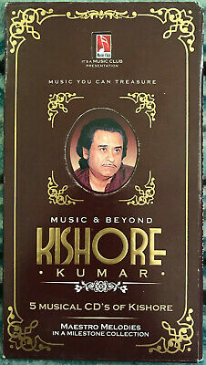 Music & Beyond KISHORE KUMAR (5 CDs Set) Bollywood / Hindi • 24£