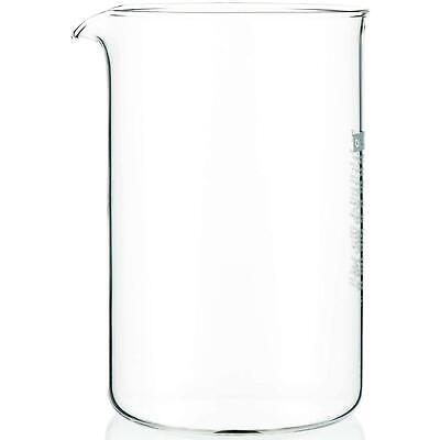 Bodum Spare Coffee Press Replacement Beaker, Glass - 1.5 Litre - 12 Cup Capacity • 17.17£